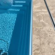 Mini piscine accessible