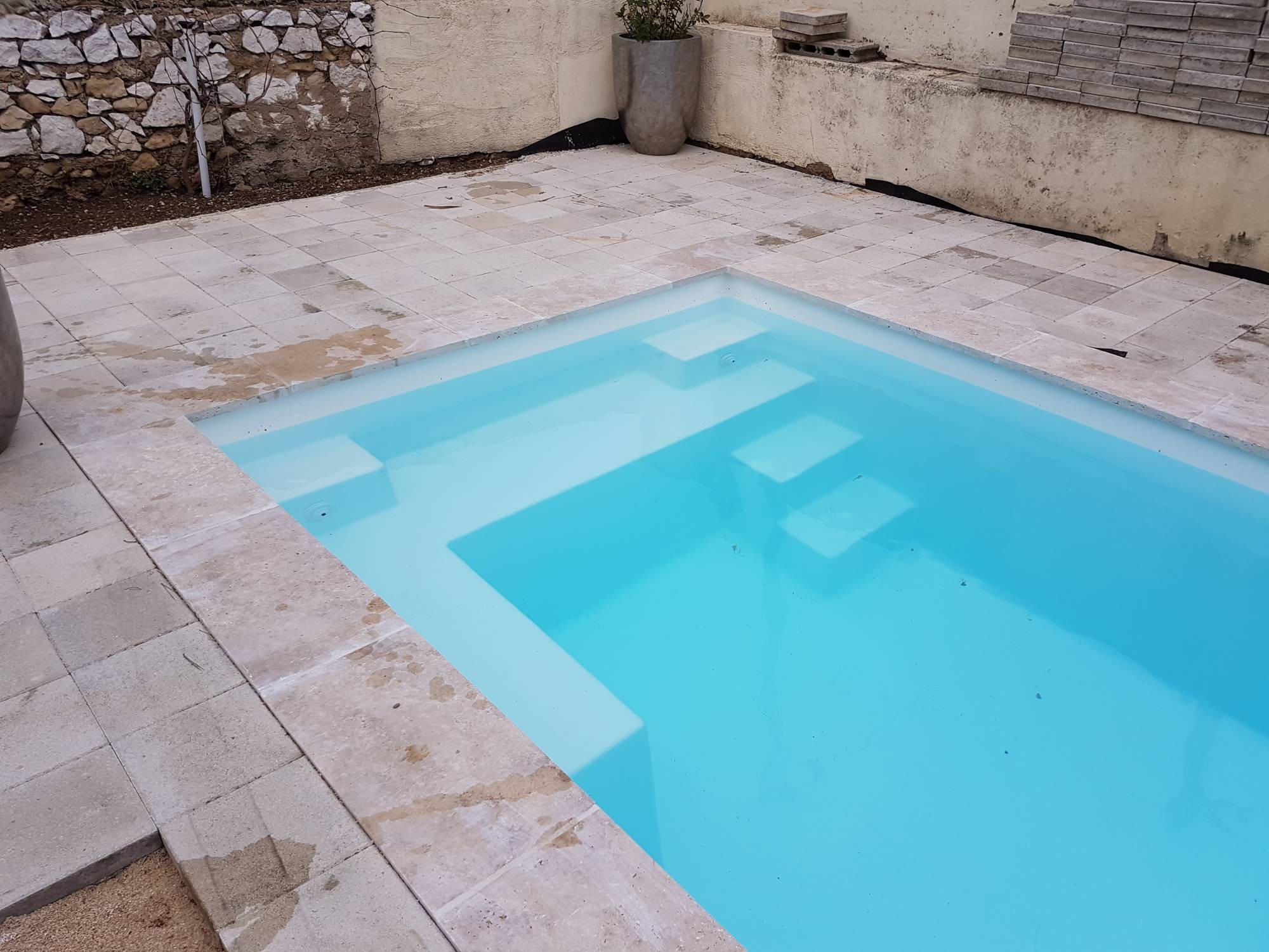 Piscine filtration traditionnel