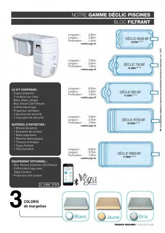 Declic filtration integree