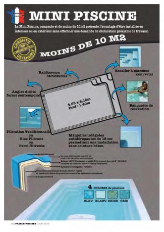Plaquette mini piscine 2